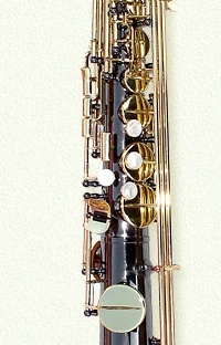 Keilwerth SX90 Straigh Alto Saxophone with black nickle finish